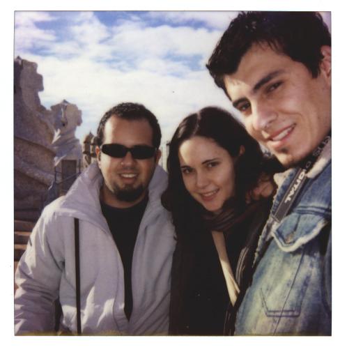 Toño & Claudio & me