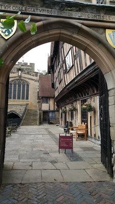 Warwick medieval Hospital