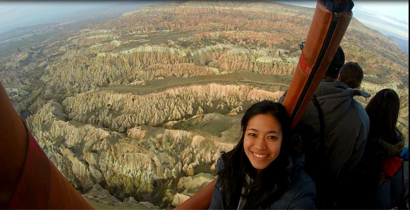 Hot Air Ballooning in Kapadokya