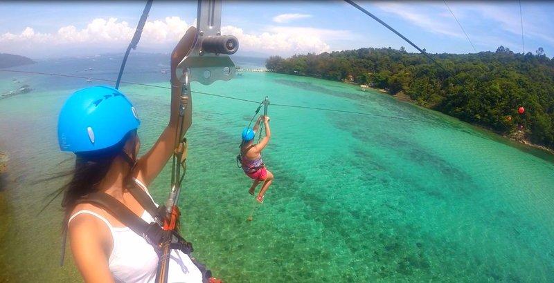 Island-to-Island Zipline