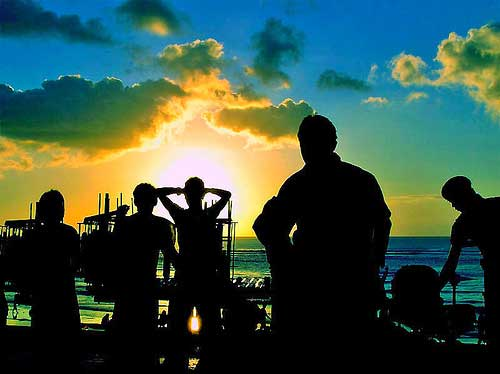 Party at Kuta Beach / BALI