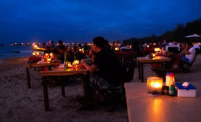 Sunset Seafood Dinner / JIMBARAN /BALI