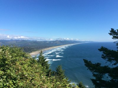 North Oregon coastline