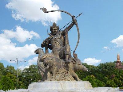 King Pyusawhti Statue