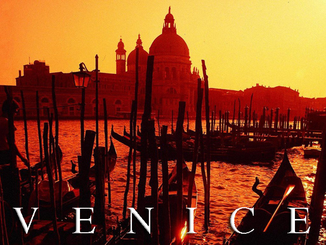 Beautiful Venice Sunset