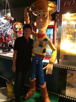 Woody and I