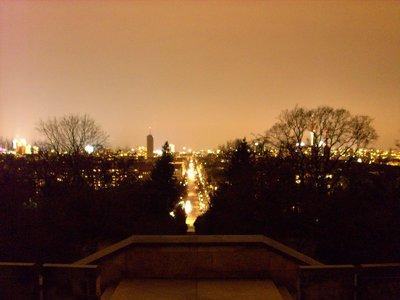 Berlin bei Nacht vom Kreuzberg