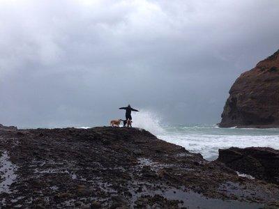 Paul on the rocks