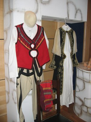 Albanian traditional costumes