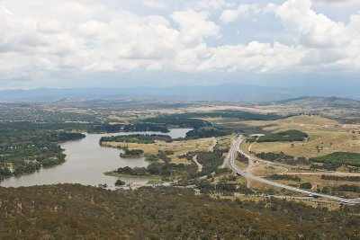 Canberra from Black Tower