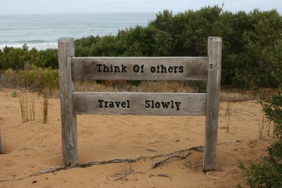 Travel Slowly