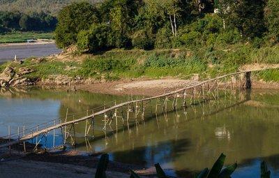 Bridge over Nam Kahn River