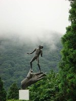 Hakone Open-Air Museum- Hand of God sculpture