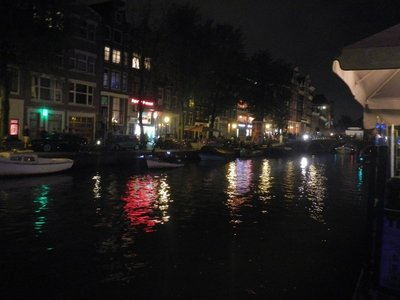 Night Lights, Amsterdam