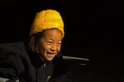 Sikkimese girl