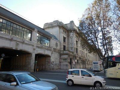 Exterior of Milano Centrale