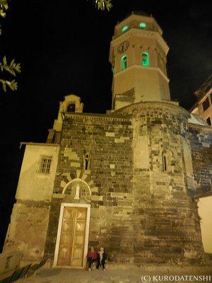 Church at Vernazza