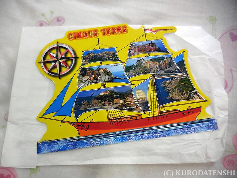 Postcard from Riomaggiore