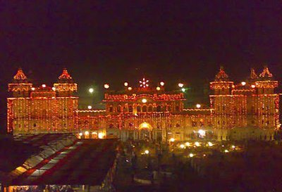 Janaki Temple decorated for vibaha panchami festival