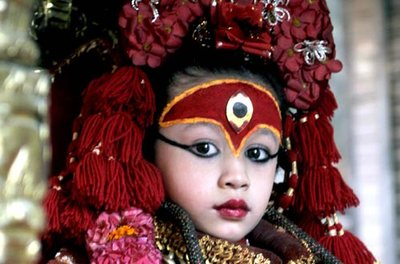 "The Living goddess ""Kumari"""