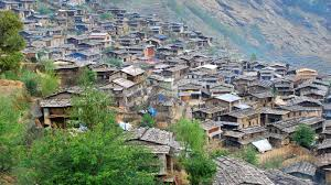 barpalk village before earthquake