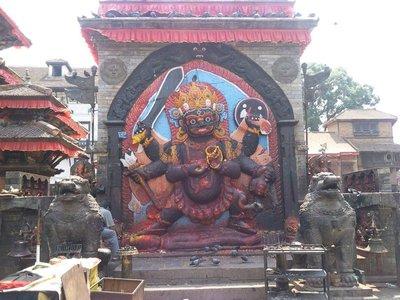 Kala Bhairav Statue
