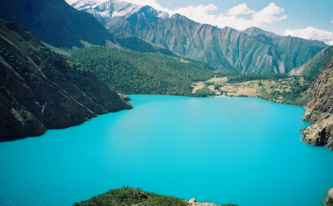 shey phoksundo lake in Shey Phoksundo national park