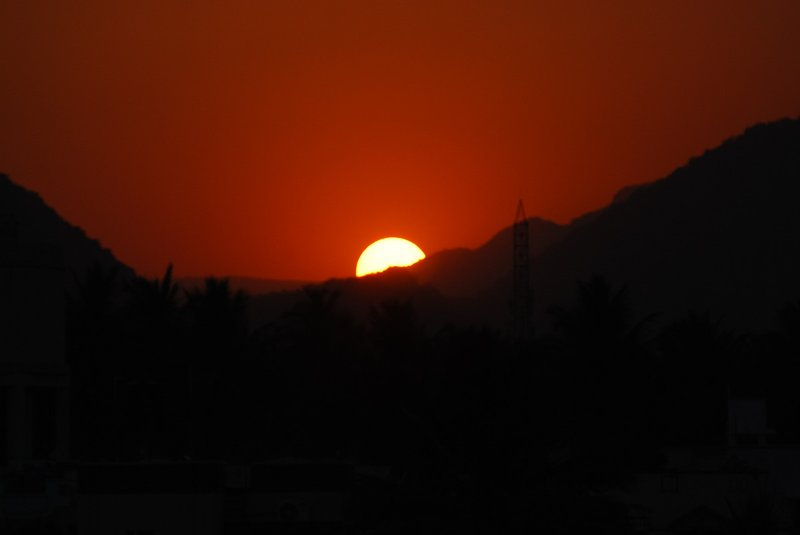 Sun Set, Coimbatore, Tamil Nadu, India