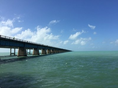 1 of many bridges to Key West