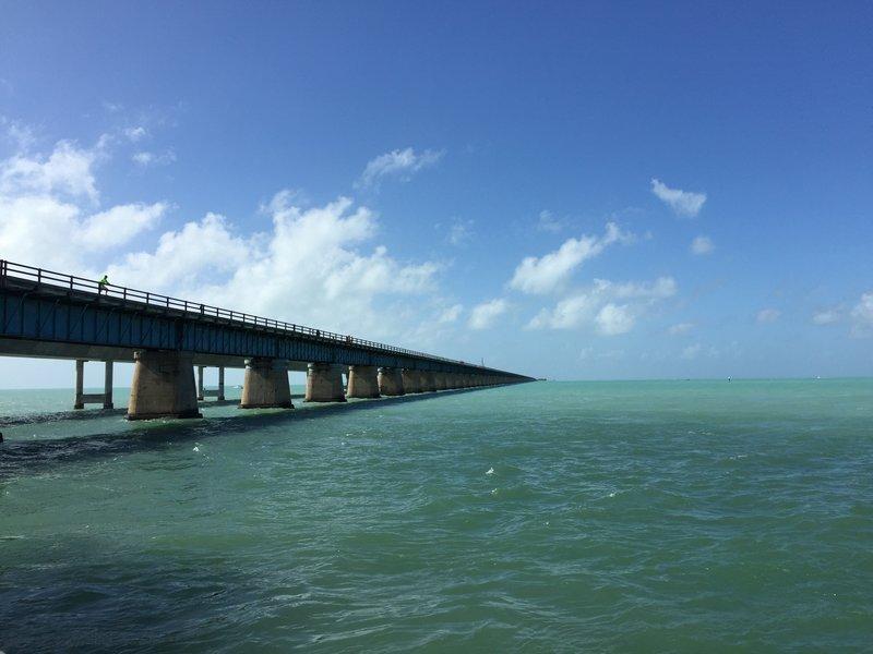 1 of many bridges to Key West