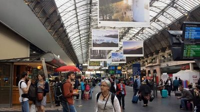 Paris railway station