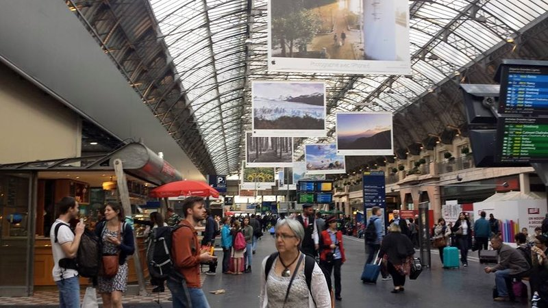Paris railway station