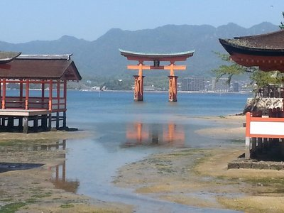 Miyajima - the floating torii