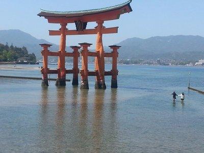 Miyajima - floating torii gate