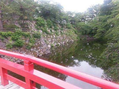Hirosaki Castle Park - middle moat