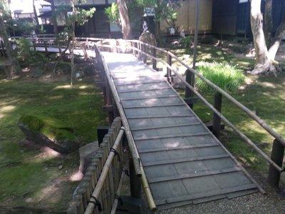 Kakunodate garden at samurai house