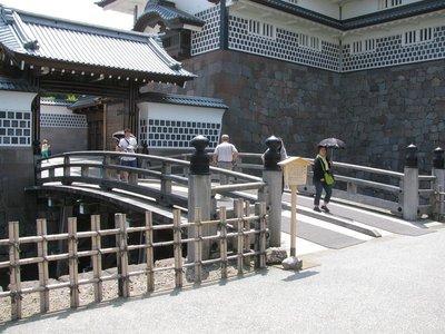 Kanazawa Castle - Moat gate and entrance