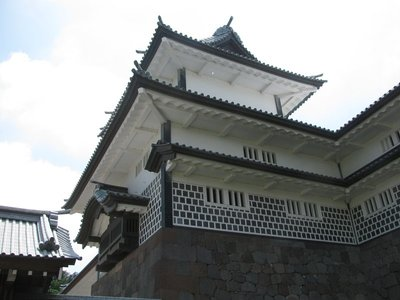 Kanazawa Castle - turret