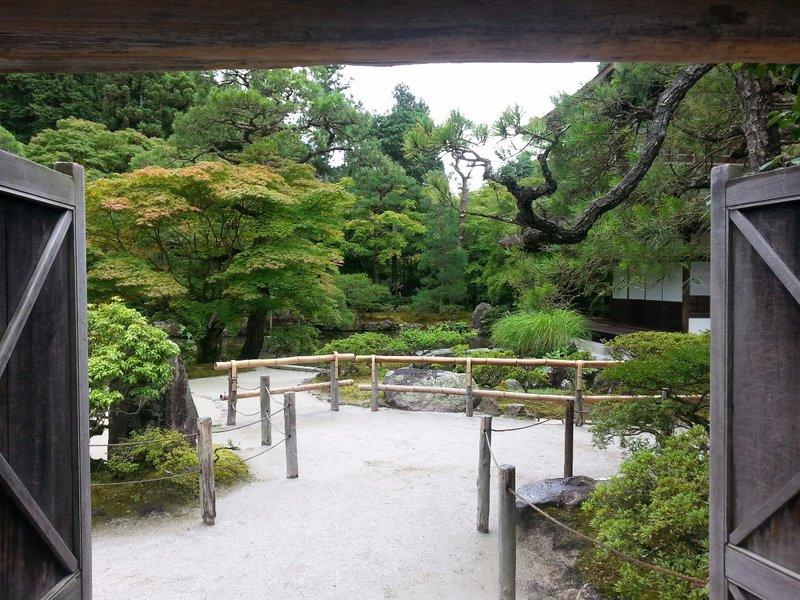 Entrance to Ginkakuji
