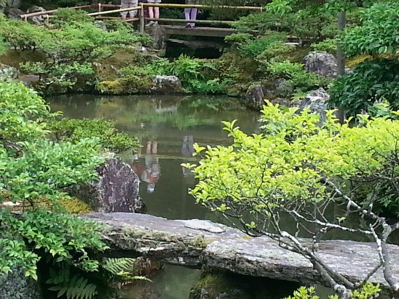 Ginkakuii - gardens