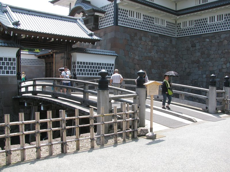 Kanazawa Castle - Moat gate and entrance