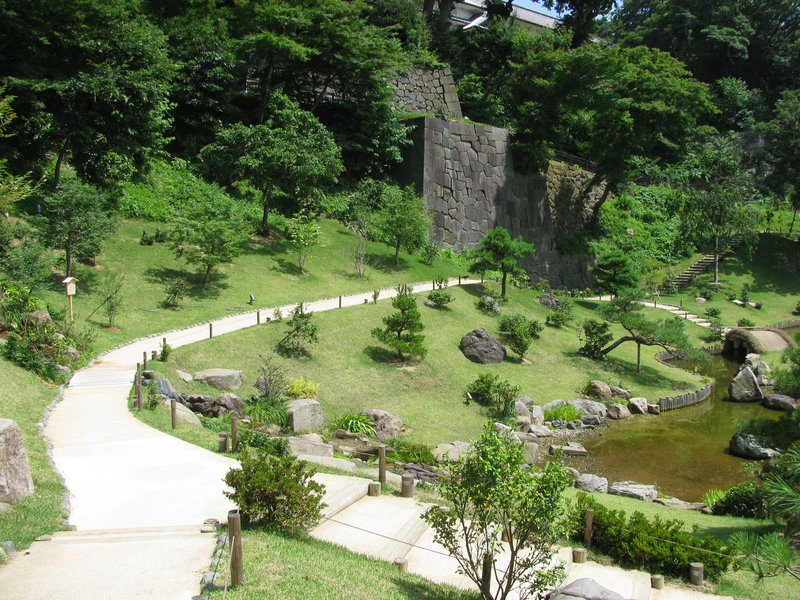 Kanazawa Castle Gardens