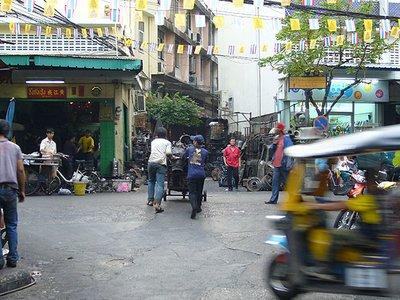 China Town vor Hotel