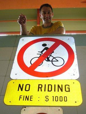 Bike Verbot