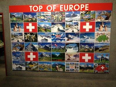 Jungfraujoch - Suíça (Topo da Europa)
