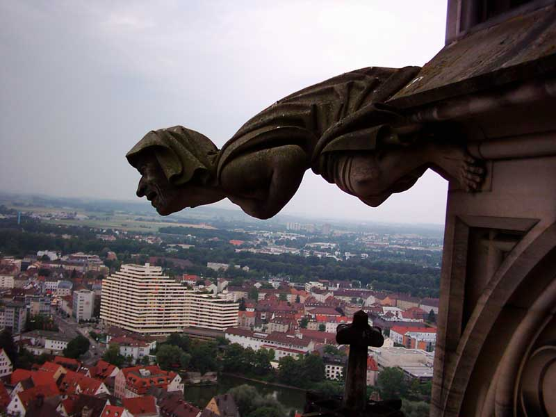 Gargoyle of Ulmer Münster
