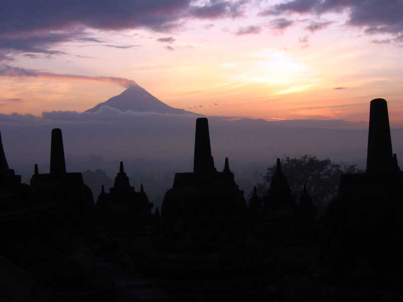 The guardians of Merapi