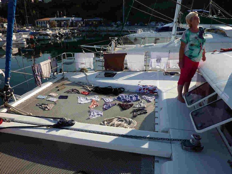 Le nouveau bateau-séchoir