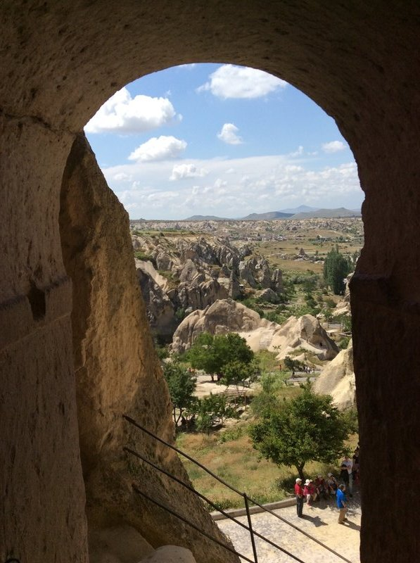 view from one of the churches in the Goreme Open Air Museum