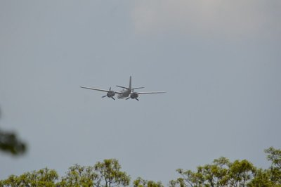 A-26 Invader after it flew over me